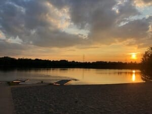 Sunset Yoga -am See | Yogato Yogastudio | Yoga Neuss